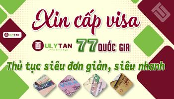 3.Xin cấp visa 77 quốc gia....